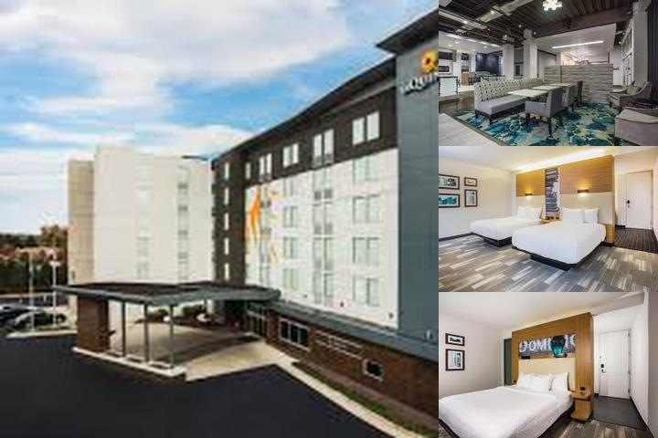 Aloft Hotel photo collage