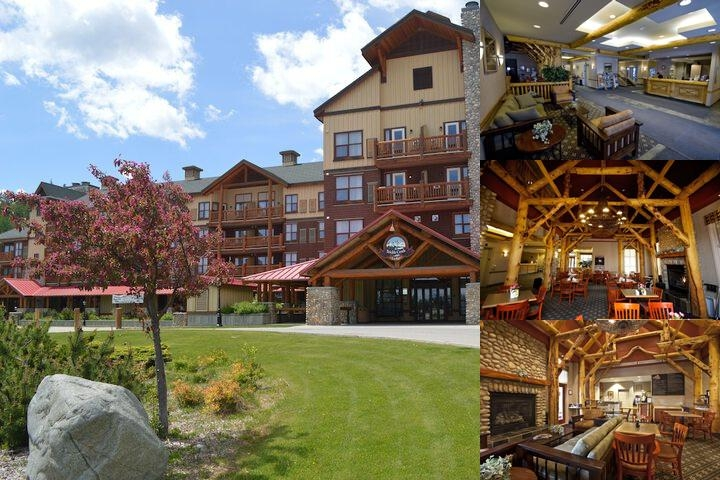 Trickle Creek Lodge photo collage