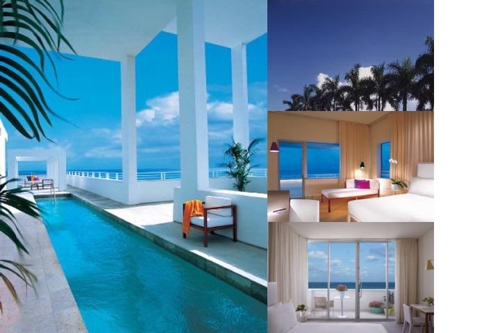 Shore Club photo collage