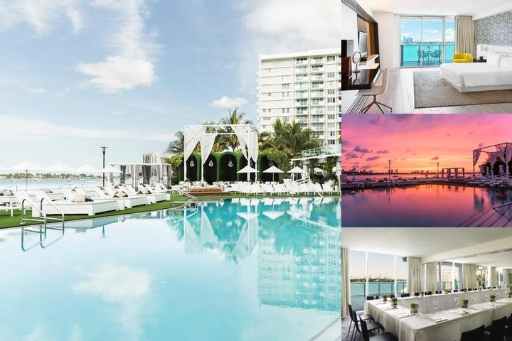 Mondrian South Beach photo collage