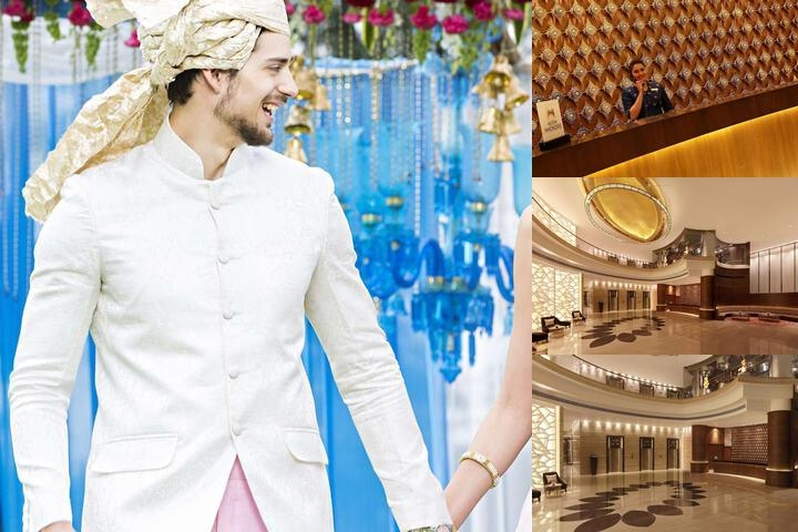 Hilton Jaipur photo collage