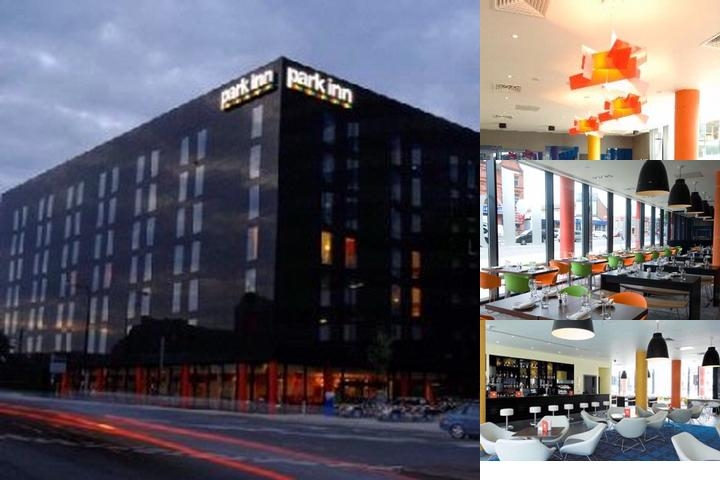 Park Inn Manchester photo collage
