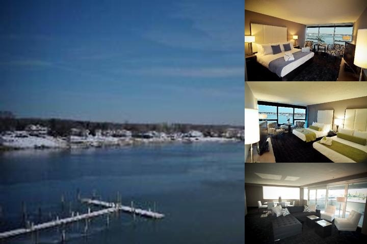 The Oyster Point Hotel photo collage