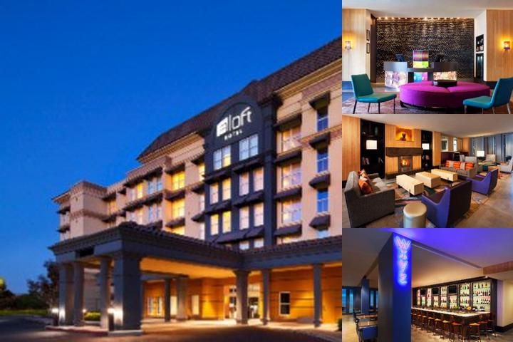 Aloft Silicon Valley photo collage
