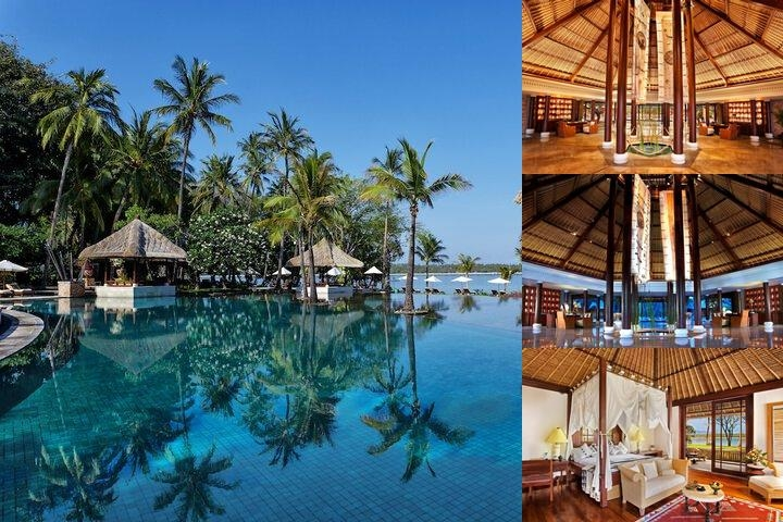 The Oberoi Lombok photo collage