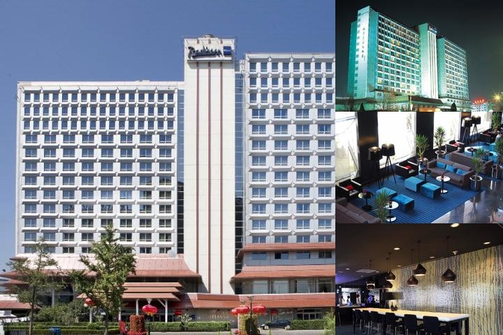 Radisson Blu Hotel Beijing photo collage