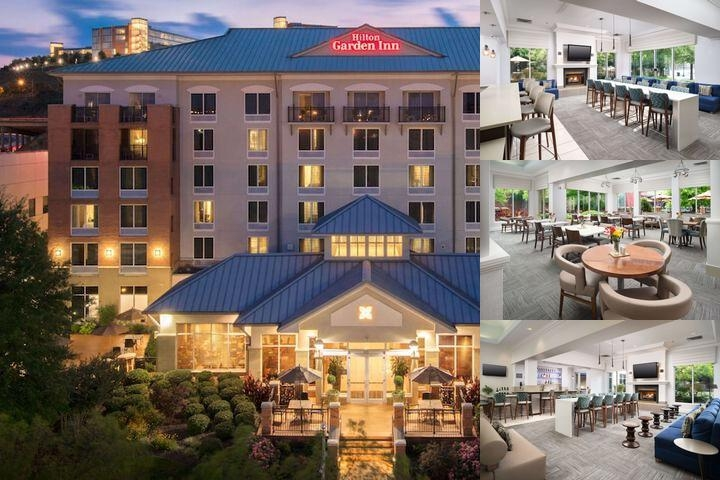 Hilton Garden Inn Chattanooga Downtown photo collage