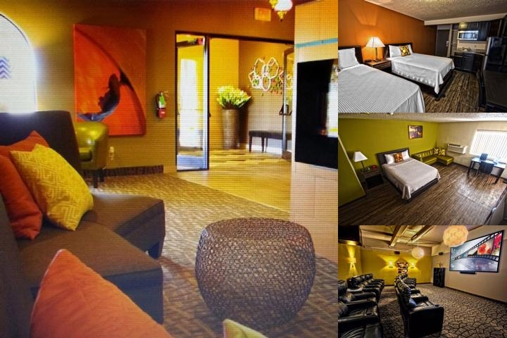 University Village Hotel photo collage