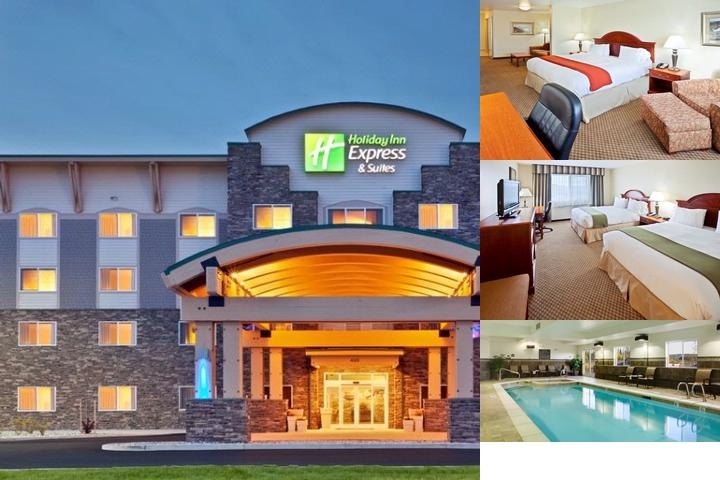 Holiday Inn Express & Suites Fairbanks photo collage
