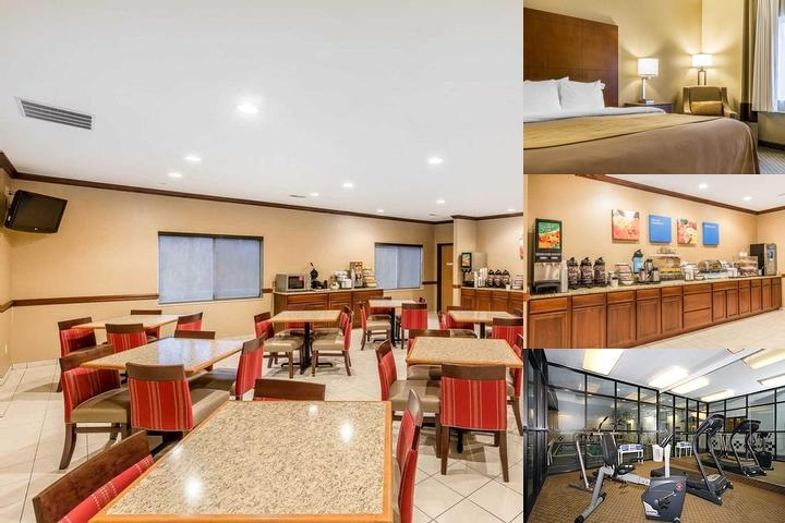 Comfort Inn & Suites East Moline photo collage