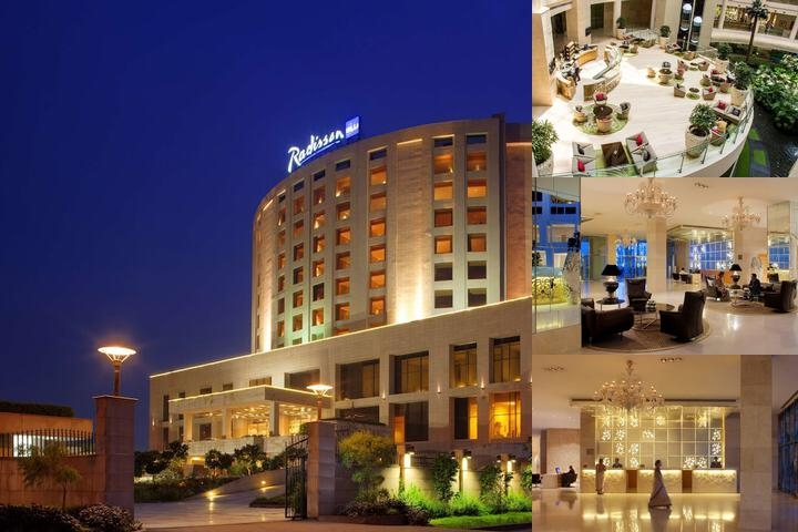 Radisson Blu Hotel New Delhi Dwarka photo collage