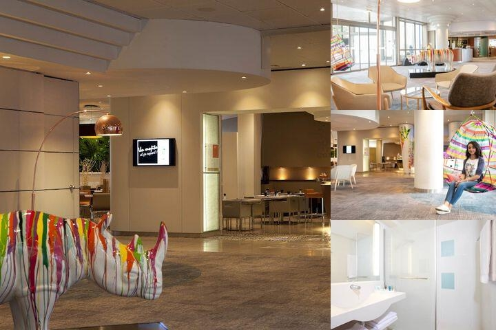 Novotel Lyon Gerland photo collage