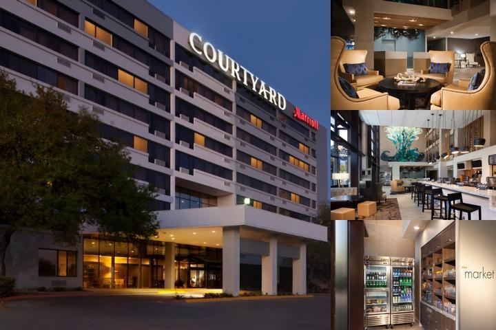 Courtyard by Marriott Austin University photo collage