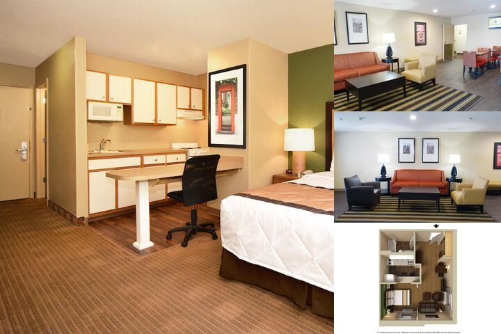Extended Stay America Arlington Six Flags photo collage
