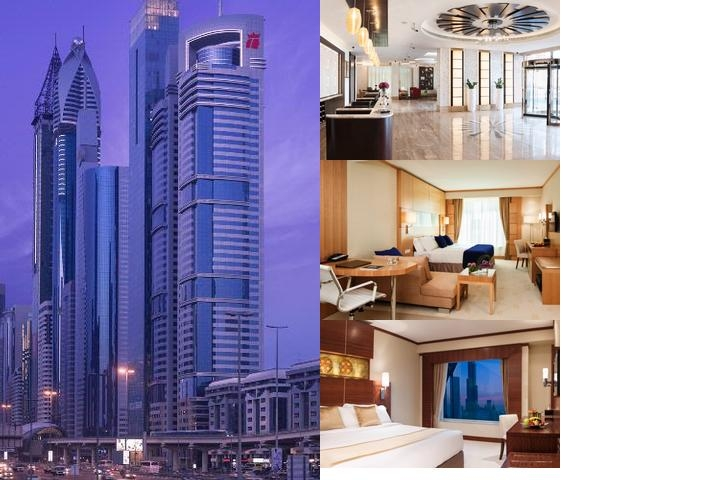 Warwick Dubai photo collage