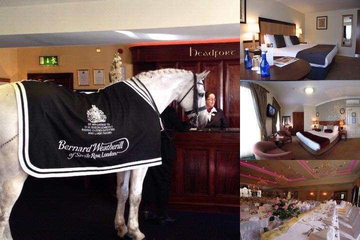 Headfort Arms Hotel photo collage