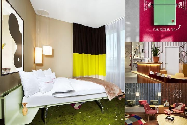25hours Hotel Zürich West photo collage