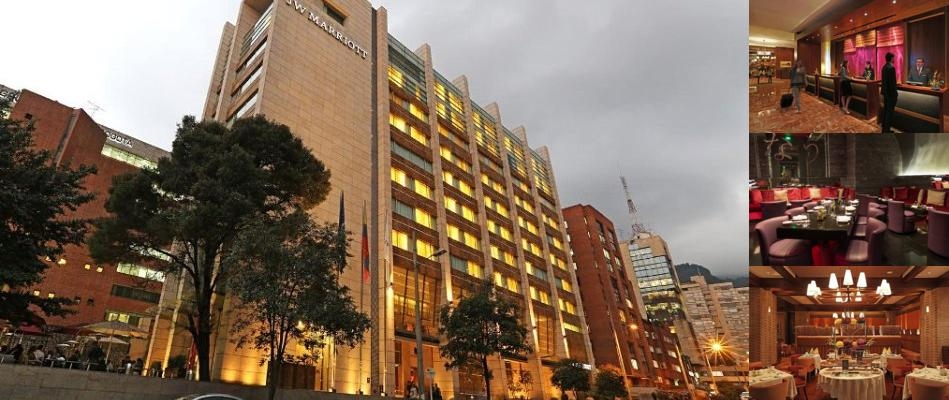 JW Marriott Hotel Bogota photo collage