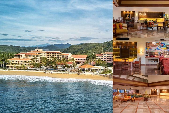 Barcelo Huatulco Beach Resort All Inclusive photo collage