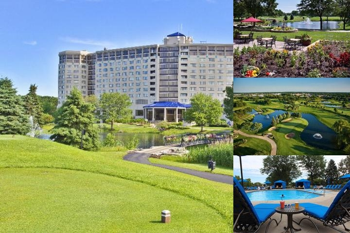 Oak Brook Hills Resort photo collage