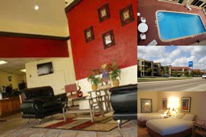 Hobby Airport Inn photo collage