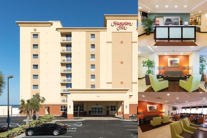 Hampton Inn Daytona Beach Beachfront photo collage