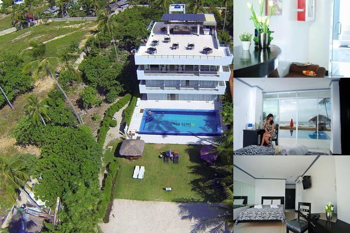 Bohol South Beach Hotel photo collage