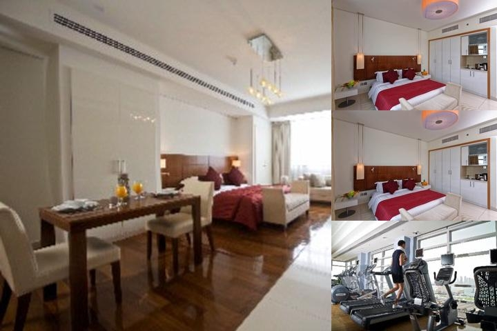 Fraser Suites Doha photo collage