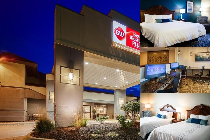 Best Western Plus Dubuque Hotel & Conference Center photo collage