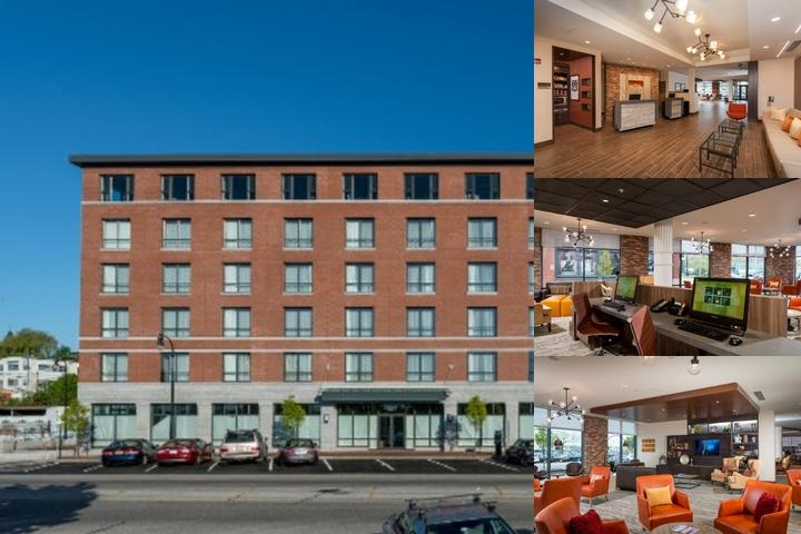 Courtyard by Marriott Portland Downtown / Waterfro photo collage