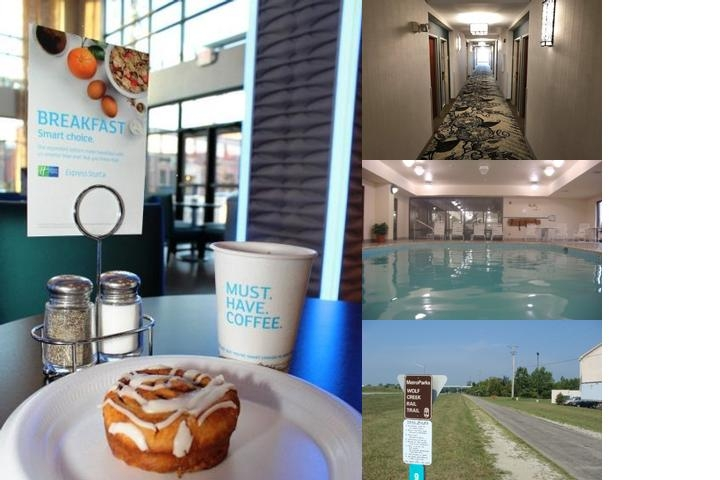 Holiday Inn Express Hotel & Suites Dayton West Brookville photo collage