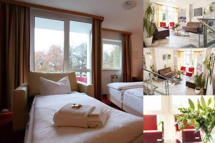 Azimut Hotel Erding photo collage