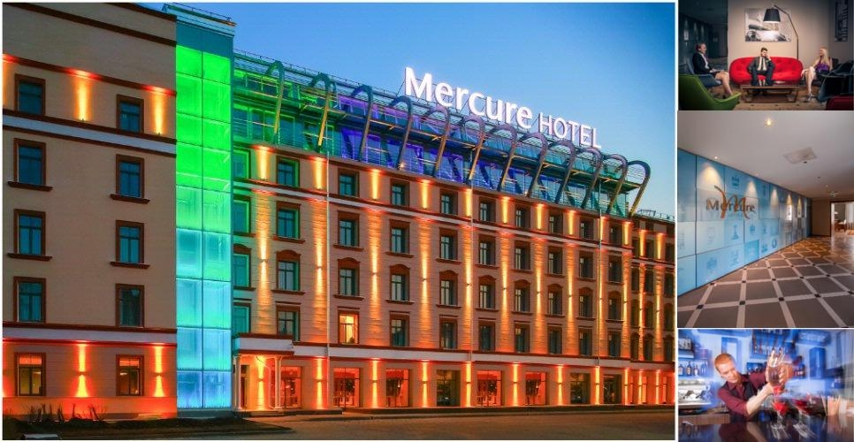 Mercure Riga Centre photo collage