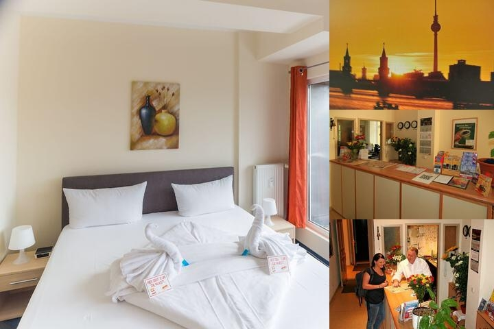 Comenius Hotel photo collage