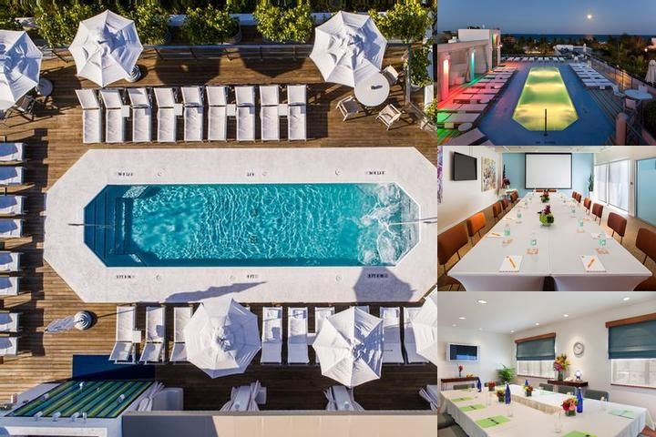 The Hotel of South Beach photo collage