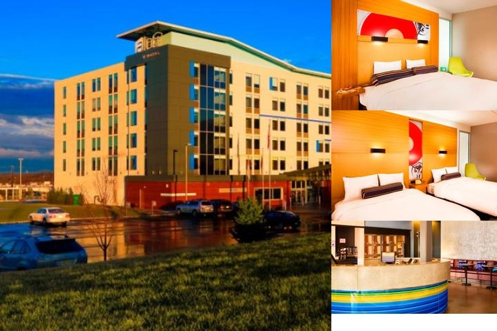 Aloft Mount Laurel photo collage