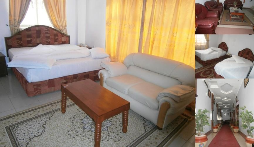 Natron Palace Hotel photo collage