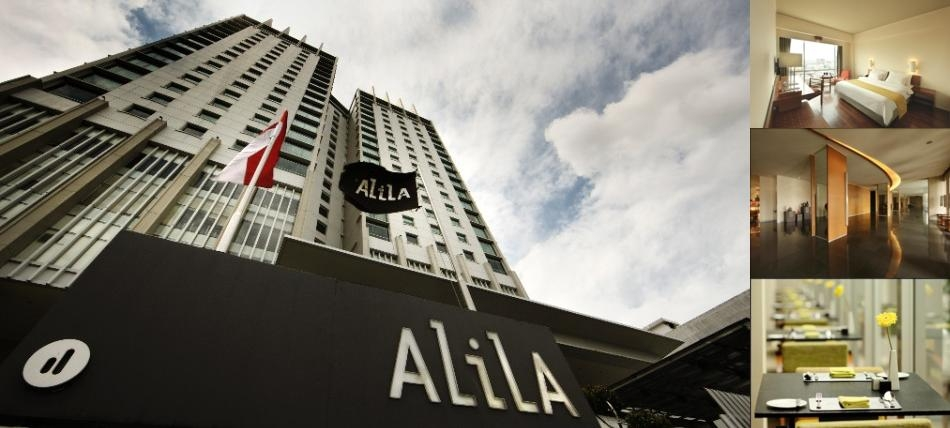 Alila Jakarta photo collage