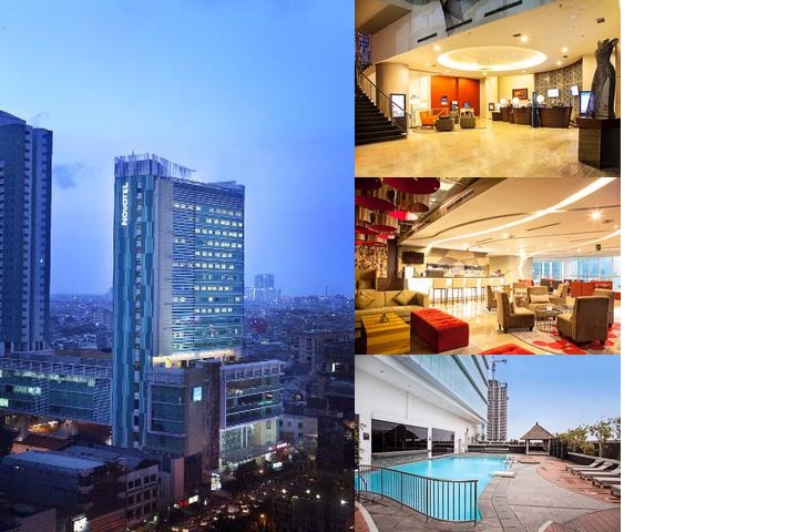 Novotel Jakarta Gajah Mada photo collage