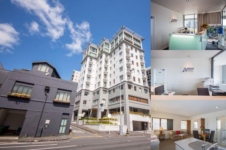 Apollo Hotel Auckland photo collage