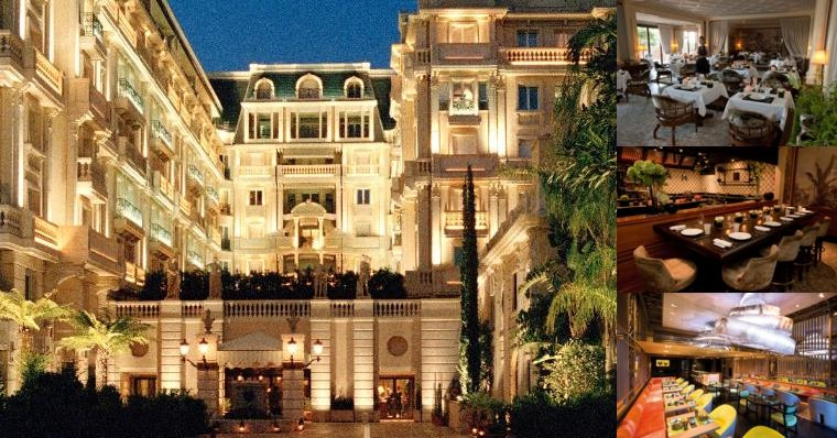 Hotel Metropole Monte Carlo photo collage