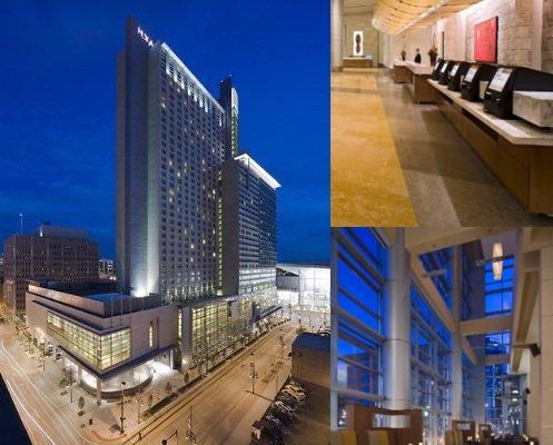Hyatt Regency Denver photo collage
