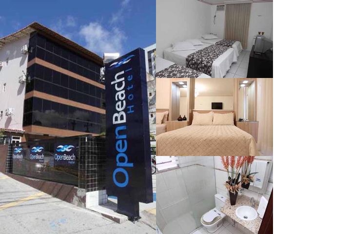 Open Beach Hotel photo collage