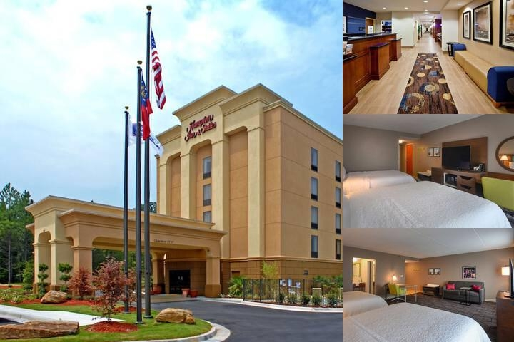 Hampton Inn & Suites Atlanta Six Flags photo collage