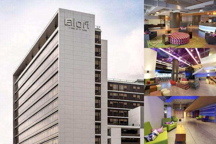 Aloft Panama photo collage
