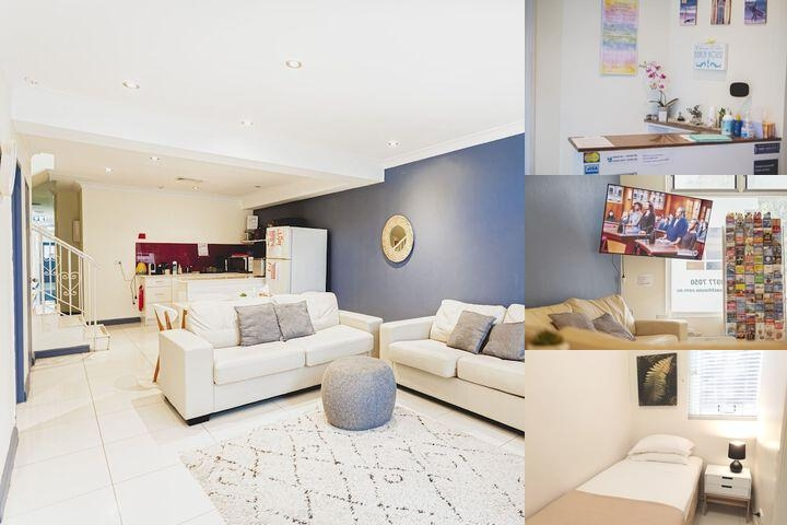 The Manly Beach House photo collage
