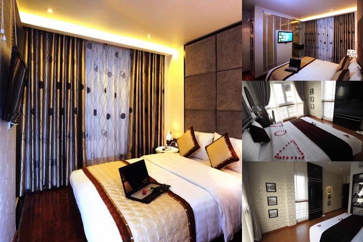 Hanoi Victory Hotel photo collage