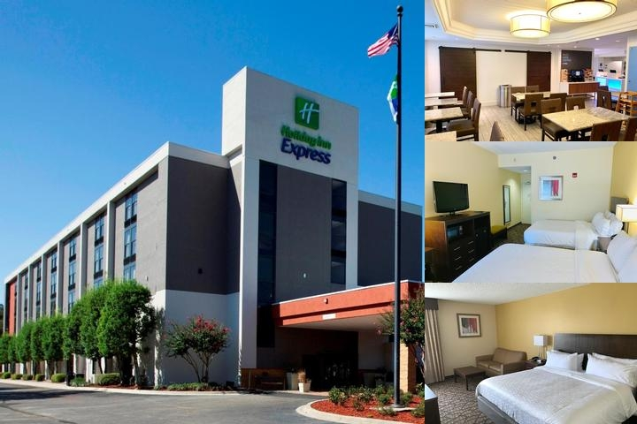 Holiday Inn Express Tallahassee East photo collage
