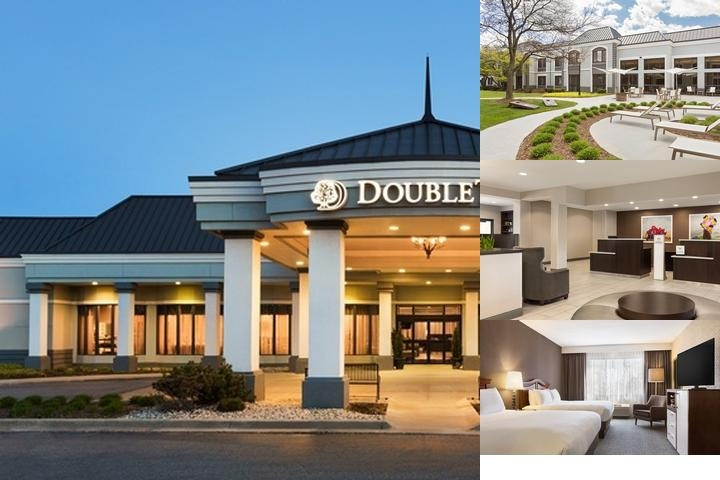 Doubletree Detroit Novi photo collage