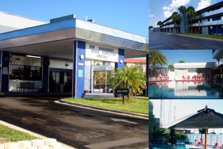 Howard Johnson / International Drive photo collage